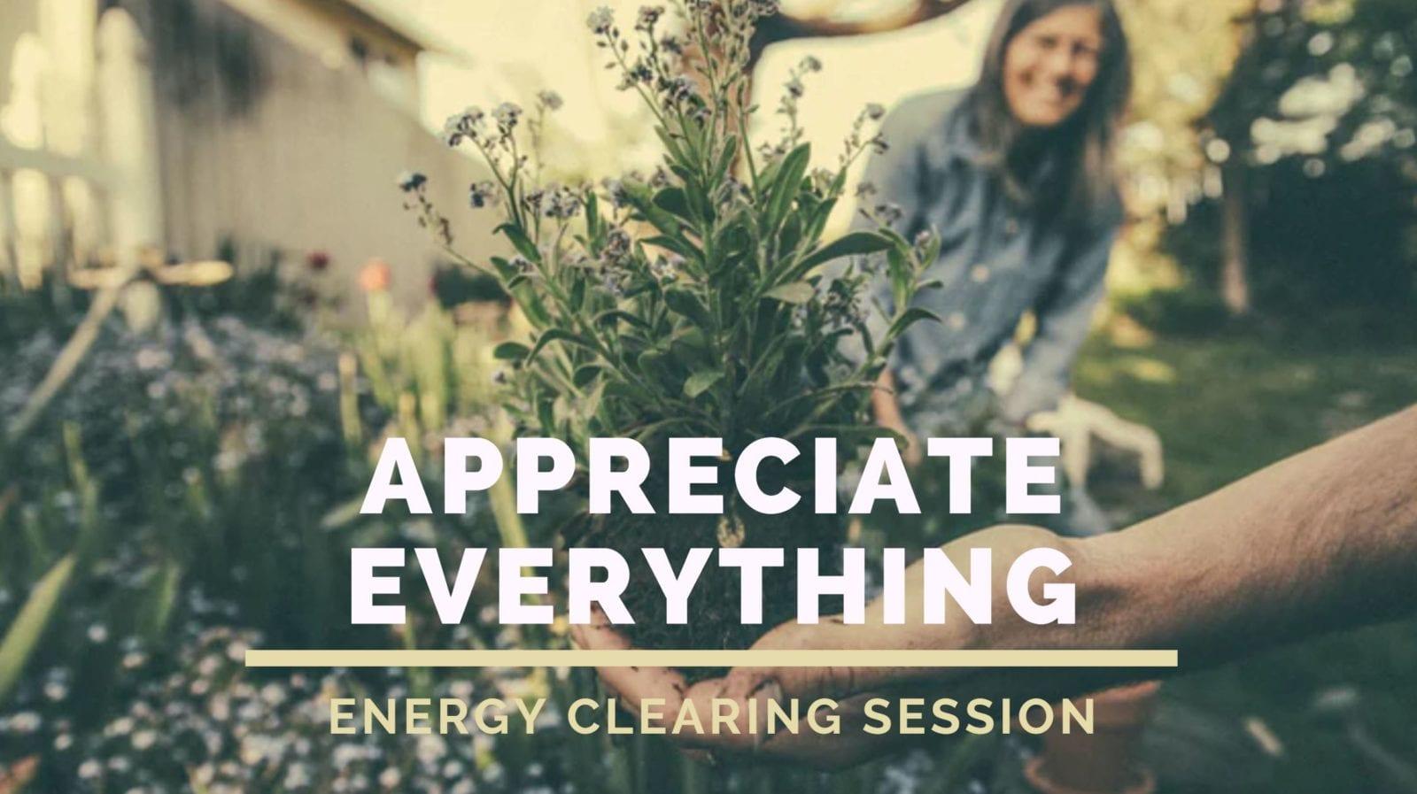 Appreciate Everything